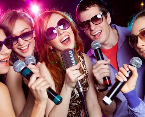Karaoke feest in Rotterdam