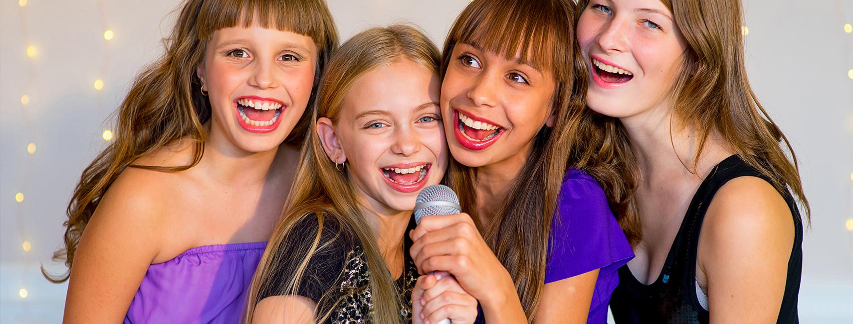 Kinderfeestje vieren Rotterdam karaoke
